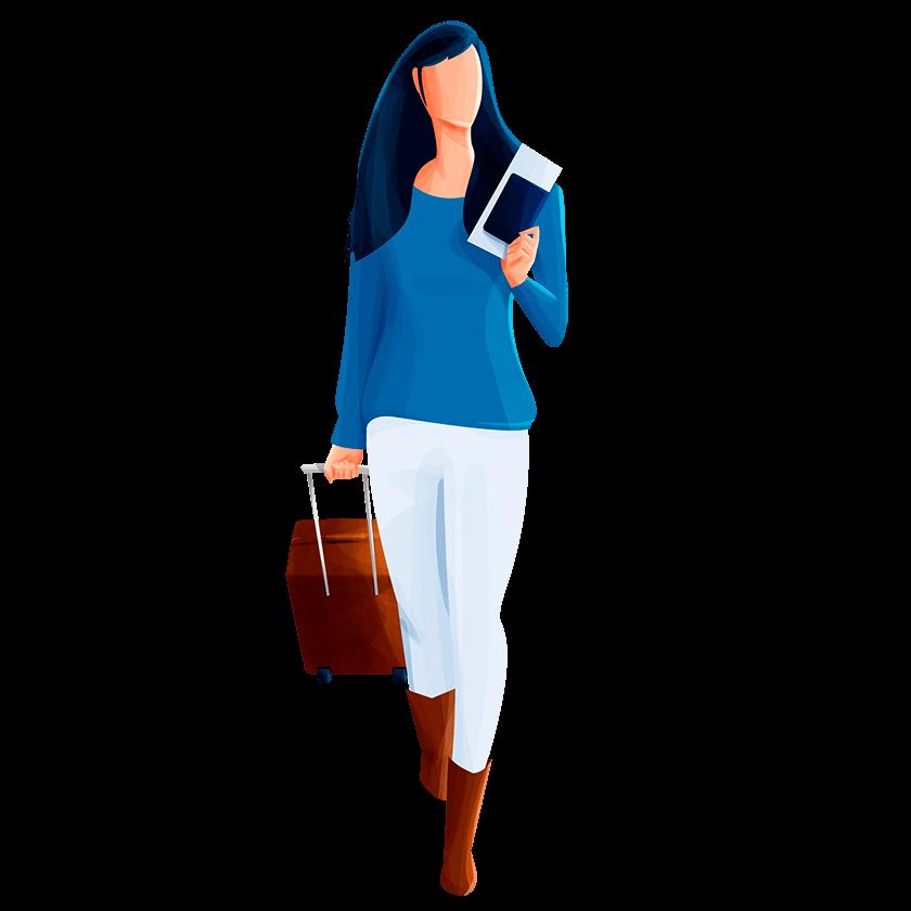Seguro Viagem: acompanhamento de menores, localização e transporte de bagagens e muito mais.