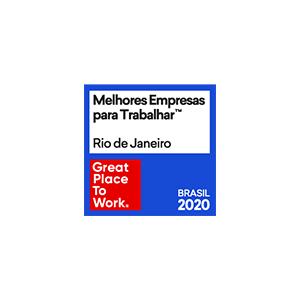 Great Place to Work 2020: a Icatu Seguros está entre as melhores empresas para trabalhar no Rio de Janeiro.