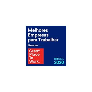 Great Place to Work 2020: a Icatu Seguros, pelo 6º ano consecutivo, está entre as melhores empresas para trabalhar no Brasil.